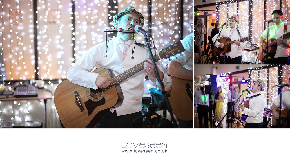 Tom and his family masqueraded as the 'Murray' band and played a few comedy numbers before the first dance.